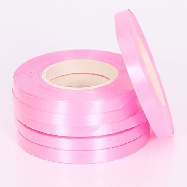 5 Pz/lotto 10 M Foil Palloncino Laser Nastro in Oro Rosa Palloncino Stringhe Partito & di Evento Forniture di Curling di Compleanno di Cerimonia Nuziale Del Partito decorazione 4