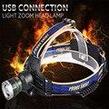 Alta Qualidade 10000Lm T6 XM-L LED Farol Lanterna Cabeça Lâmpada de Luz 18650