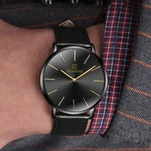 KEMANQI Watches Top Brand Men's Watch Ultra-thin Quartz Watch Business Wristwatch Fashion Men's Watches relojes para hombre saat
