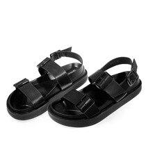 Martin sandals Roman shoes cross flat women's shoes