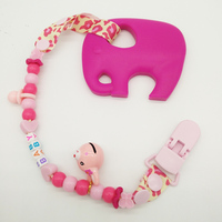 Safe Food Grade Silicone Teether Elephant High Quality Teething Baby Toys Teeth Baby Animal Massager Toys