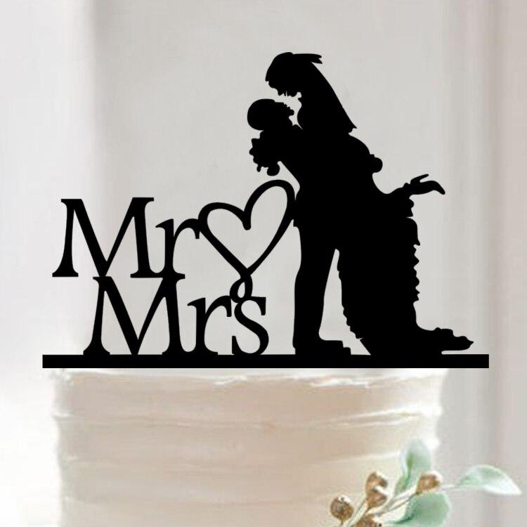 ୧ʕ ʔ୨Envío libre + Accesorios DE BODA cake Topper Cupcake stand Mr ...