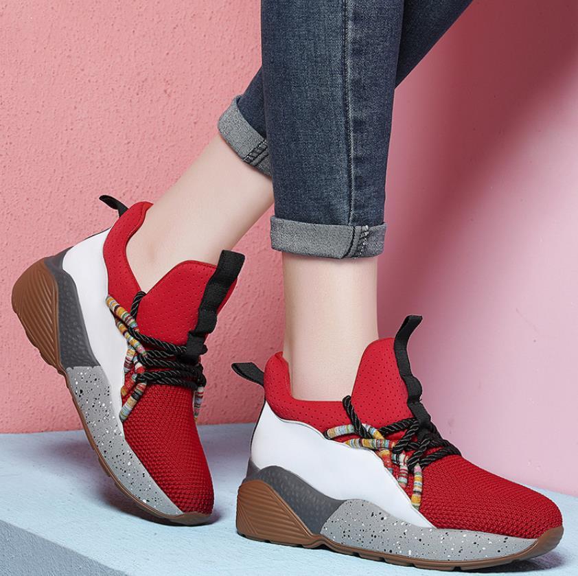 Noir De Orthographe Hiver Et Coréenne Version Chaussures rouge Automne Nouvelle Mode Casual YO4BqRvw