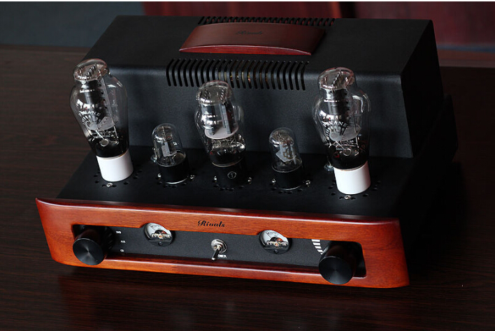 Rivals 300B class A single-ended power stereo tube amplifier HIFI audio AMP 8W*2 Tube amplifier music hall pure handmade hi fi psvane 300b tube amplifier audio stereo dual channel single ended amp 8w 2 finished product