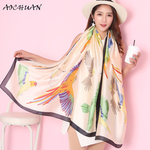 Hot!! 23 Kinds of printed imitation silk Scarves and stole Women's scarf silk Beach shawl Blanket scarf Square Satin scarf W14