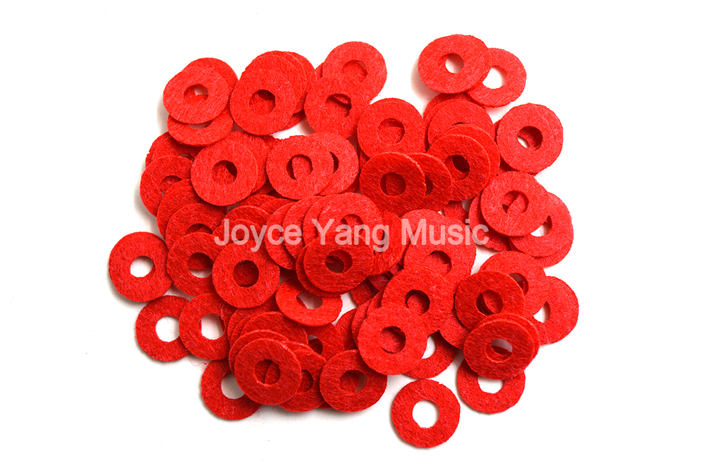 Piano Tuning Tool Piano Accessories Red Small Ring Gasket For Piano Key Free Shipping