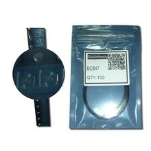 100 шт./лот BC847 NPN Транзисторы 50 В 100mA/0.1A 300 МГц 110 ~ 800 200 ~ 600 мв SOT-23 1F generalswitch и усилитель