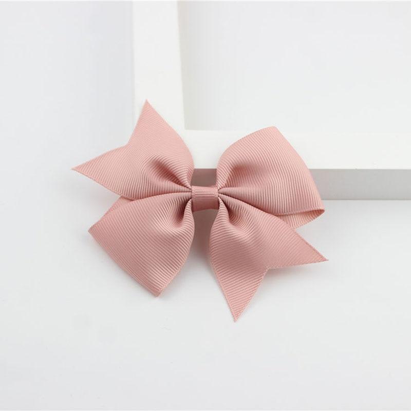 Новые модные маленькие заколки для волос для маленьких девочек, милые заколки для волос карамельного цвета с цветком, детские заколки, аксессуары для волос - Цвет: a19 Cameo Brown