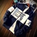 2016 новый Осенняя Мода Марка Толстовки мужчин Спортивная Толстовка мужские пуловеры плюс размер 3xl 4xl 5xl толстовка Толстовка мужчин черный