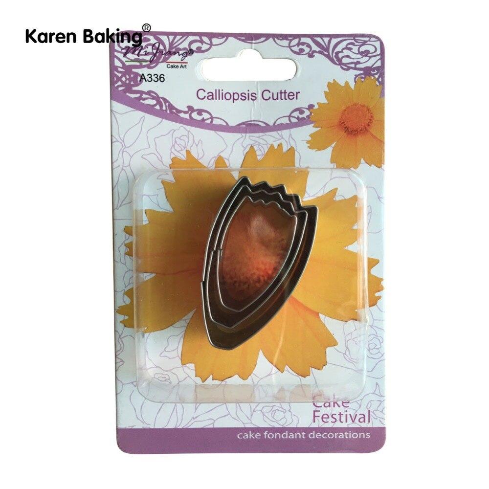 Küchendekoration 3 sucke keks form fondant kuchen dekoration floral blutenblatt