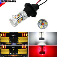 High Power White Red 3156 T25 Switchback LED Bulbs For Chevy And Ford Mustang Backup Add