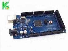 1 ШТ./ЛОТ ega 2560 R3 Mega2560 REV3 ATmega2560-16AU Совет НЕ с USB Кабель, совместимый для arduin0