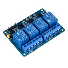 Miroad  4 Channel DC 5V Relay Module for Arduino Raspberry Pi DSP AVR PIC ARM K49