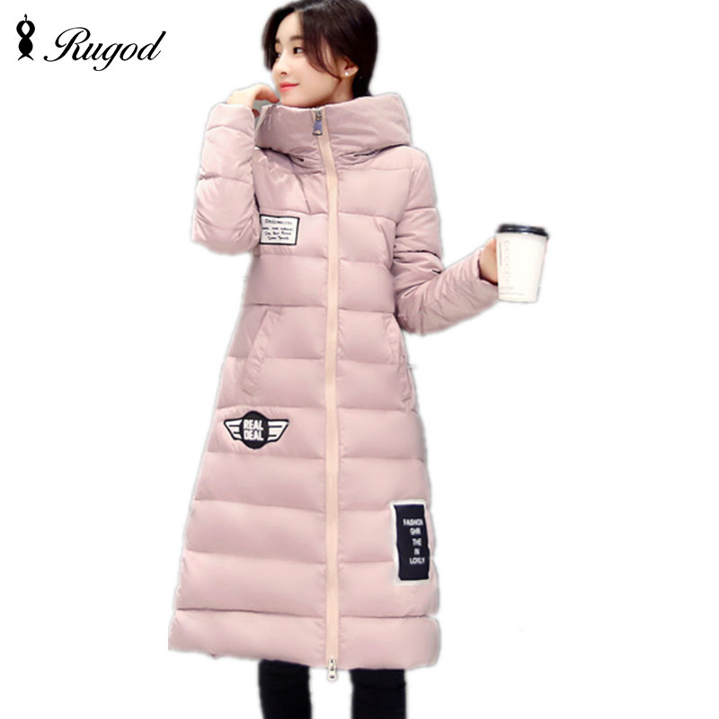 2017 Winter Down Jacket Women Long Coat Parkas Thickening Female Warm Clothes High Quality Long Sleeve