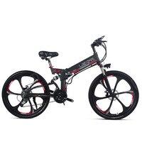 26 дюймов Электрический горный велосипед 48V400W высокоскоростной двигатель легкая оправа для очков Встроенная литиевая аккумуляторная батар