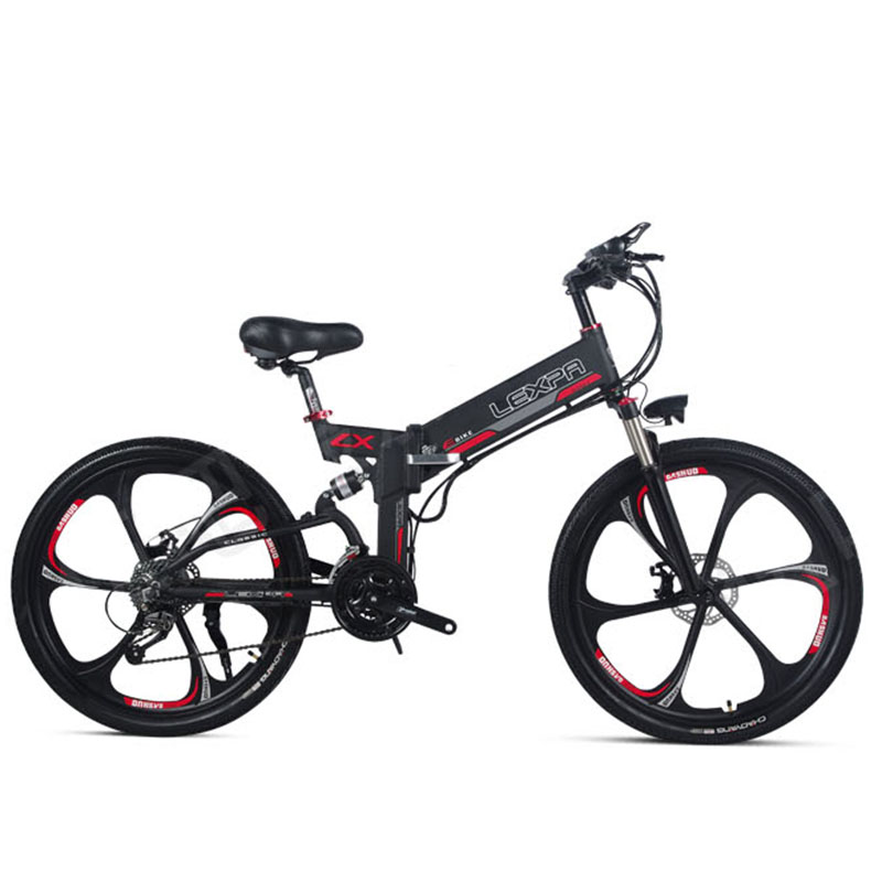 26inch electric mountain bicycle 48V400W high speed motor Lightweight frame hidden lithium battery GPS electric ebike
