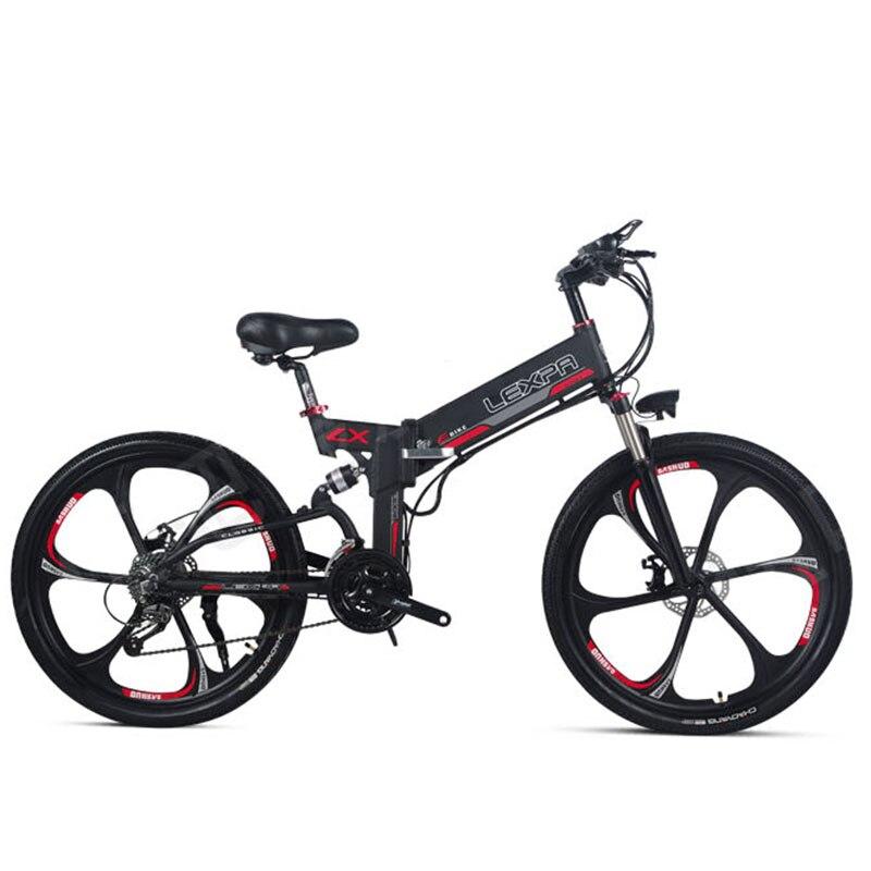 48V400W 26 polegada montanha bicicleta elétrica motor de alta velocidade quadro Leve bateria de lítio escondida elétrica ebike