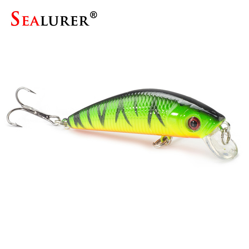 Sealurer brand lifelike minnow fishing lure 7cm 8 5g 6 for Zoom fishing lures