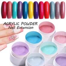 Ur Sugar 3 коробки погружения ногтей порошок блеск для акрилового дизайна ногтей порошок пыль акриловая УФ-Пудра Набор для украшения ногтей