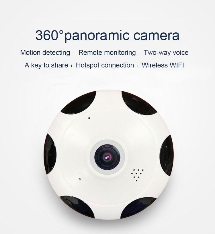 HD 960P  MINI Cctv Camera Smart  Wireless Fisheye IP Camera 360 Degree Panoramic Wide Angle Home Security Wifi CameraHD 960P  MINI Cctv Camera Smart  Wireless Fisheye IP Camera 360 Degree Panoramic Wide Angle Home Security Wifi Camera