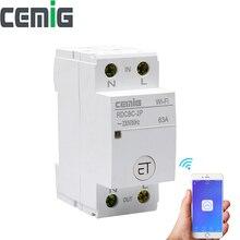 Wi fi interruptor inteligente tipo relé 2p trilho din controle remoto por ewelink app casa inteligente compatível com alexa google