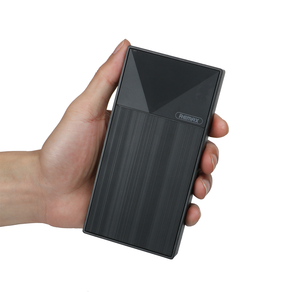 REMAX RPP-55 Power Bank 10000mah Dual USB External Mobile <font><b>Battery</b></font> Charger for Iphone <font><b>Cellphone</b></font> 2 USB Portable Charging Powerbank