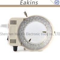 Regulowany 56 oświetlacz LED Lampa Pierścieniowa Lampa Dla Przemysłu CCD COMS Stereo Mikroskop Lupa Cyfrowa Kamera Wideo 110 V-240 V