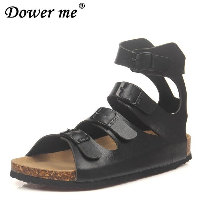 e7b86c425568a Fashion Cork Sandals 2019 New Women Summer Buckle Strap Solid Beach Slipper  Flip Flops Sandals Shoe Flat with Plus Size 35-43