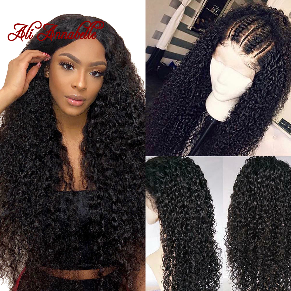 360 Lace Front Human Hair Wigs Pre Plucked Lace Front Wig With Baby Hair Remy Hair