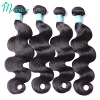 Monstar Remy Peruvian Hair Bundle Deals Unprocessed Human Hair Bodywave 1/3/4 Bundels Raw Human Hair Weaving Free Shipping