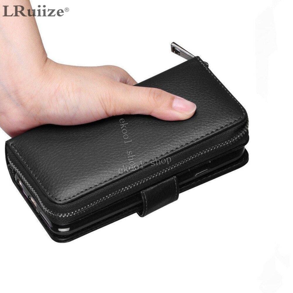 LRuiize Lady Luxury Leather läderfodral för Apple iphone X 8 7 Plus - Reservdelar och tillbehör för mobiltelefoner - Foto 5