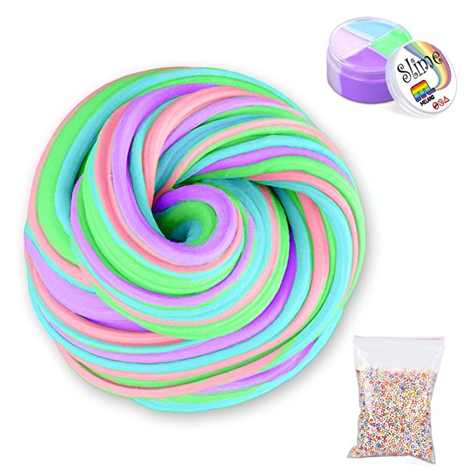 60ml Fluffy Foam Slime Putty Stress Relief Magic MultiColor Slime Sludge Cotton Mud Toy slime toys antistress toys plastice clay prusa i3 update version large size xl aluminum extended 300x200mm y carriage plate for reprap 3d printer