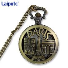 Vintage Bronze Doctor Quartz Pocket Watch Fashion Who Style Best Gift Necklac Pendant Steampunk Watch Male pocket watch paris