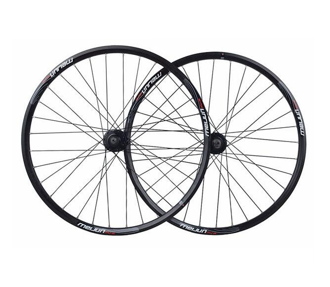26 inch bicycle wheels MTB cassette disc wheel set alloy Mountain bike wheel 32holes ldcnc wheel set bya412 upgrade wheels set folding bike 14 inch lightest wheels lighter than mialo wheels