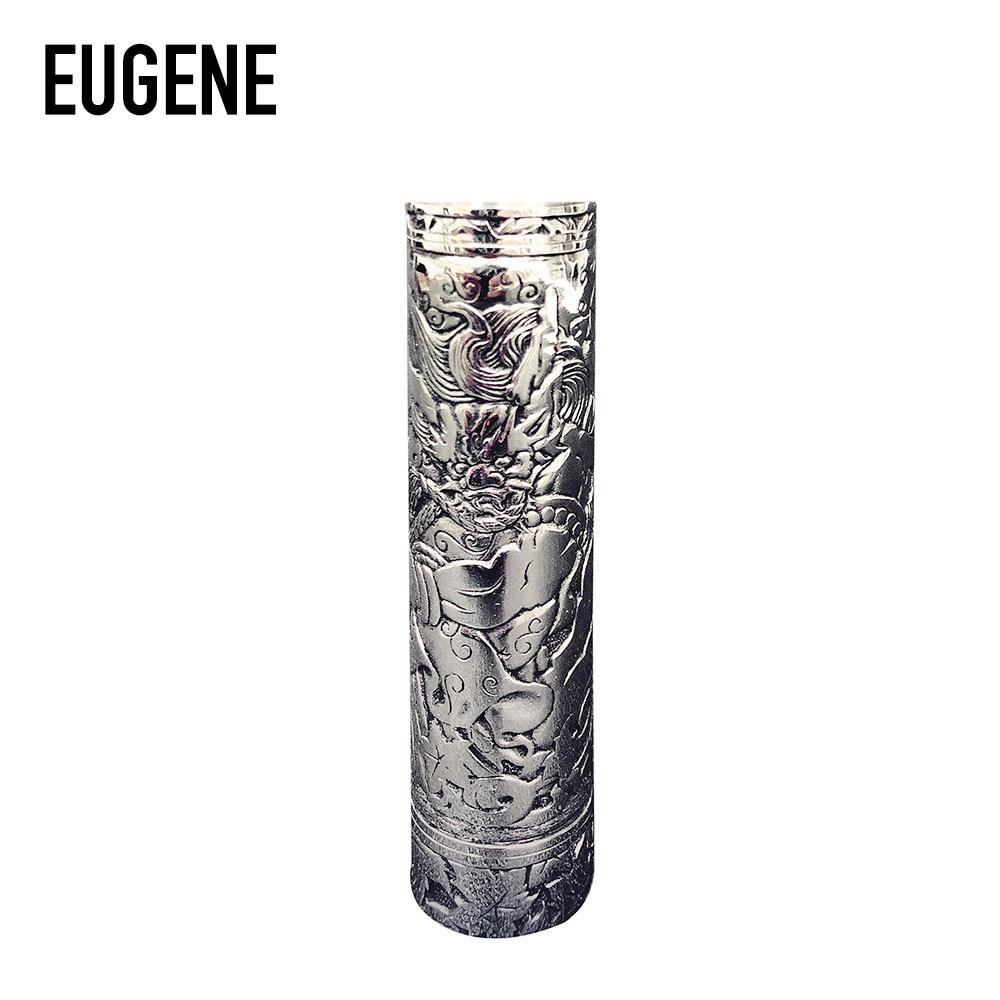 D'origine EUGENE Vent-Deitie Manuel Sculpture Mech MOD avec Innovante tri-partie conception et Manuel Sculpture Mosaïque Artisanat e-cig Mod