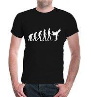 BuXsbaum T-Shirt De Evolutie van Karate Katoenen Shirts Goedkope Groothandel Mannen Nieuwe Hoogwaardige Top Tee Originele Tops Nieuwigheid