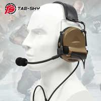 TAC-SKY COMTAC II silikon ohrenschützer version elektronische taktische hören verteidigung noise reduktion sound pickup military headphoneCB