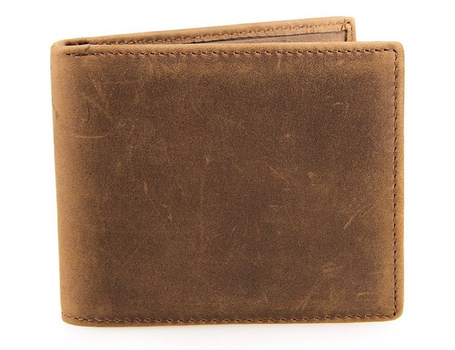 Free Shipping JMD 100% Genuine Leather Men Wallets Small Pocketbook Card Holder Purse # 8029B