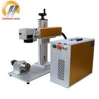 20W Fiber Laser Marking Machine For Stainless Steel Marking Metal Laser Engraver Machine 2018