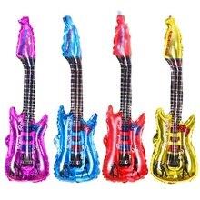 85*30 см надувные дутые гитарные шары, игрушки, музыкальные инструменты для детей, игрушки для игр, вечерние, реквизиты, воздушные шары, аксессуары NSV775