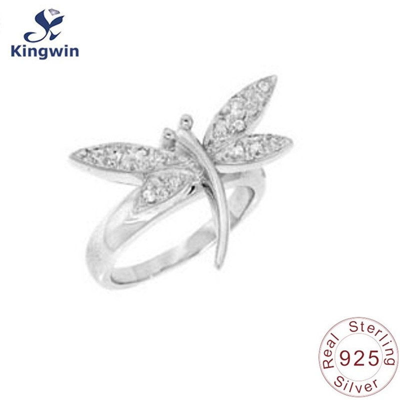 Sterling silver ring butterfly design Christmas gift to lovers925 wedding engagement jewelry trendy summer jewelry 2015 mariposa en plata anillo