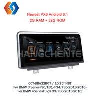 Для BMW 3 4 серии F30 F31 F32 F33 F34 F35 F36 2013 2016 Hotselling Android 8,1 радио Сенсорный экран Мультимедиа gps Nav НБТ CIC7