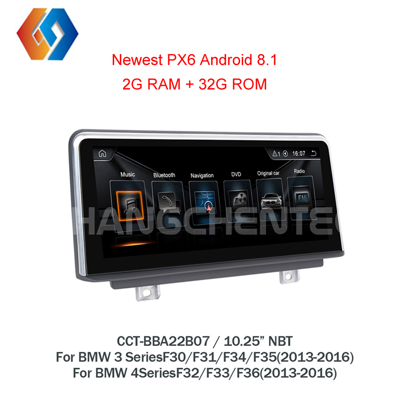 For BMW Android f30 3 4 Series F30 F31 F32 F33 F34 F35 F36 PX6 GPS
