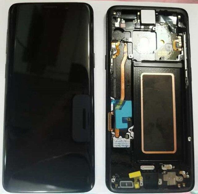 """100% Super AMOLED ЖК-дисплей для samsung Galaxy S9 G960F G960U G960 S9 Дисплей Сенсорный экран агрегат + рамка 5,8 """"Замена + Инструменты"""