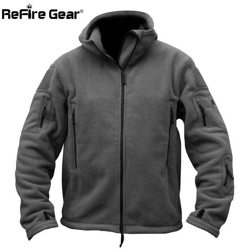 HTB1C2CQglcHL1JjSZJiq6AKcpXaq Winter Military Tactical Fleece Jacket Men Warm Polar Army Clothes Multiple Pocket Outerwear Casual Thermal Hoodie Coat Jackets