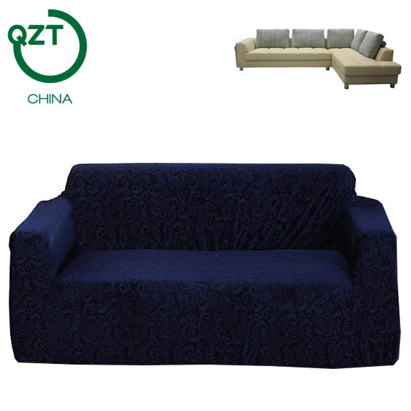 cubierta del sof europeo jacquard tela para sof de esquina protector de muebles modernos sof