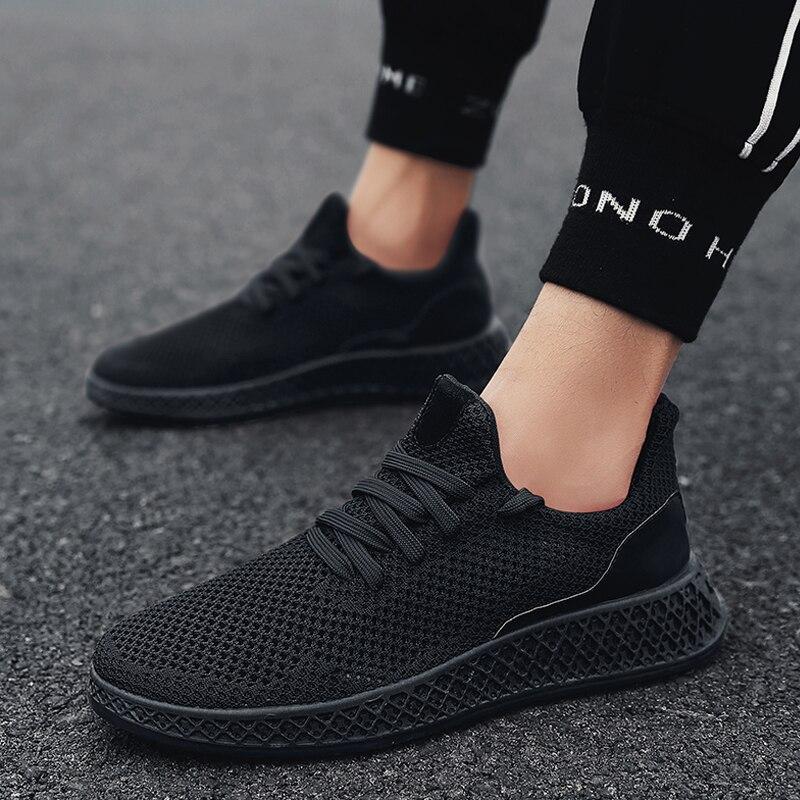 Hombres zapatillas Zapatillas zapatillas de deporte ligero malla transpirable zapatos deportivos zapatos para correr zapatos de atletismo