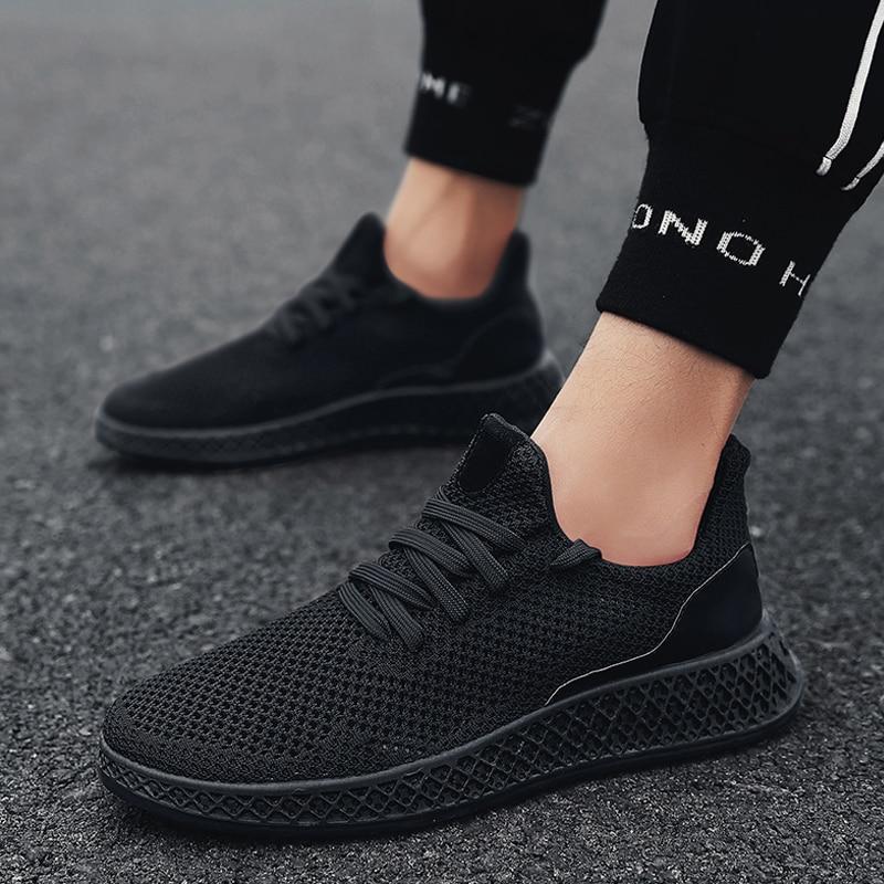 Männer Turnschuhe Laufschuhe Leichte Turnschuhe Mesh Atmungsaktive Sport Schuhe Jogging Walking Schuhe Leichtathletik Schuhe