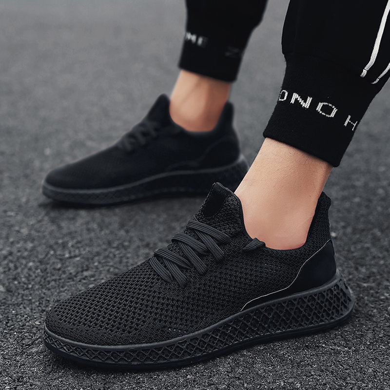 Men Sneakers Running Shoes Lightweight Sneakers Mesh Breathable Sport Shoes Jogging Walking Shoes Athletics Shoes new running shoes for men 2017 outdoor breathable mesh light flat shoes comfortable sneakers athletics women lovers sport shoes