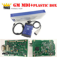 Newest product GM MDI wifi hdd 2017.2 with plastic box optinal for gm diagnostic tool for cars/trucks with free DHL shipping